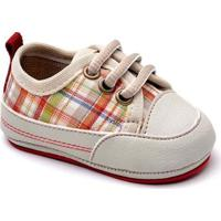 Tênis Top Franca Shoes Infantil - Unissex-Bege