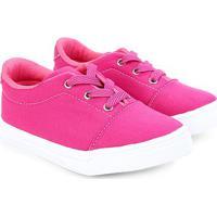 Tênis Infantil Kurz Liso - Feminino-Pink