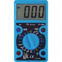 Multímetro Digital Minipa Et-1000 Display Lcd Tensão Dc/Ac Azul