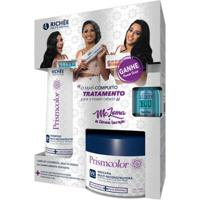 Richée Professional Prismcolor Luminous Shine Kit - Shampoo + Máscara + Ampola Kit - Unissex-Incolor