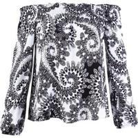 Blusa Feminina Hering Em Tecido De Viscose Com Lastex No Decote