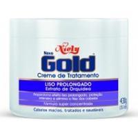 Creme De Tratamento Niely Gold Liso Prolongado 430G