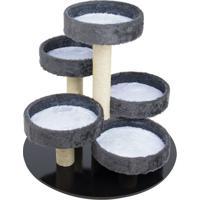 Brinquedo Arranhador Round- Cinza & Branco- 63Xã˜80Cmcarlu Pet