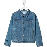 Lanvin Enfant Jaqueta Jeans - Azul
