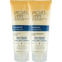 Kit De Shampoo & Condicionador Hidratante- 240Ml- Jajacques Janine