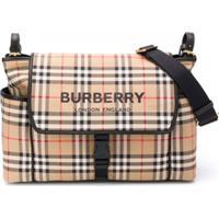 Burberry Kids Bolsa Maternidade Xadrez - Neutro