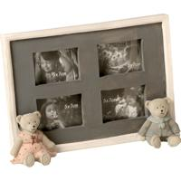 Porta-Retrato De Resina Decorativo Com Urso Love Bears