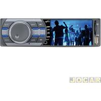 "Auto Rádio Mp3 Player - Naveg - Tela 3"" - Mp5 - Aux / Sd / Tv - - Cada (Unidade) - Nvs 3079 Tv"