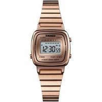 Relógio Skmei Digital Feminino - Unissex-Rose Gold