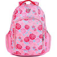Mochila De Costas Dmw G Liberty Vii Pink Capricho Floral Rosa