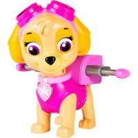 Boneco Patrulha Canina - Skye Com Lançador Jumbo - Sunny - Masculino-Incolor