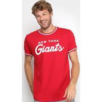 Camiseta Mitchell & Ness Nfl New York Giants Especial Masculina - Masculino