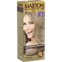 Tintura Maxton Creme Kit Prático 10.1 Louro Platinada Radiante 50G