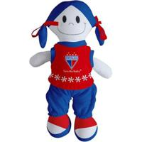 Boneca Mascote Do Fortaleza - Torcida Baby - Unissex