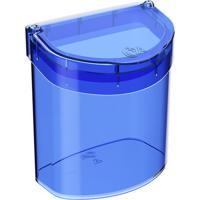 Lixeira Glass Para Pia- Azul Escuro- - 2,7L-Coza