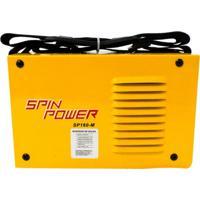 Máquina Inversora De Solda Sp160M Spin Power Amarelo Vulcan Ferramentas 220V