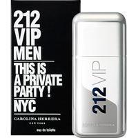 212 Vip Men By Carolina Herrera Eau De Toilette Masculino 200Ml 200Ml