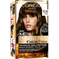 Coloração Imédia Excellence Fashion Paris N° 6.170 Bronde Rock 1 Unidade