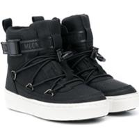 Moon Boot Kids Ankle Boot Com Fivela - Preto