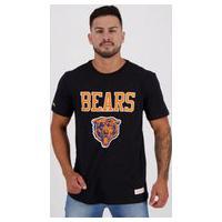 Camiseta Mitchell Ness Nfl Chicago Bears Preta