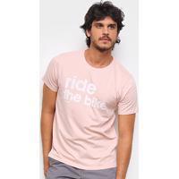 Camiseta Gajang Ride The Bike Masculina - Masculino-Rosa