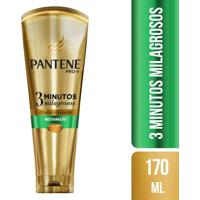 Condicionador Pantene 3 Minutos Milagrosos Restauração 170Ml