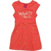 Vestido Disney Minnie Vermelho