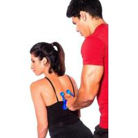 Massageador Manual Com 4 Esferas Acte Sports - Unissex-Azul