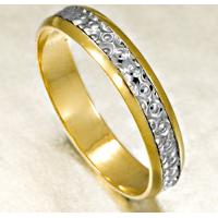 Aliança De Ouro Noivado Côncava Com Diamantes - As0522 + As0523 Casa Das Alianças