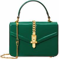 Gucci Bolsa Sylvie 1969 - Verde