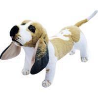 Pelúcia Minas De Presentes Cachorro Amarelo