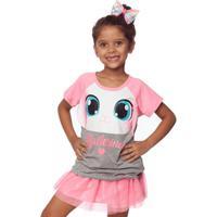Pijama Curto Fantasia Coelha Bailarina Kids 2