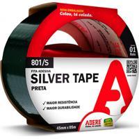Fita Adesiva Silver Tape Prata 45Mm Com 5 Metros