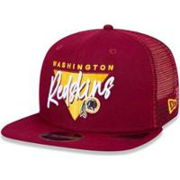 Netshoes  Boné Trucker Washington Redskins Nfl Aba Reta New Era - Masculino 1ac3ac68b98
