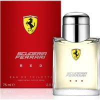 Ferrari Perfume Masculino Red Edt 75Ml - Masculino-Incolor