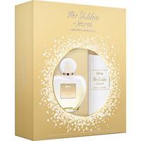 Kit Perfume Feminino Her Golden Secret Antonio Banderas Edt 80Ml + Body Lotion 75Ml - Feminino