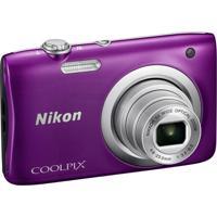 Câmera Nikon Coolpix A100 20.1Mp Zoom 5X Roxo