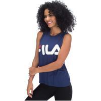 Camiseta Regata Fila Alexia - Feminina - Azul Escuro