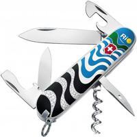 "Canivete Spartan ""Ondas Do Rio""- Inox & Branco- 9,1Cvictorinox"