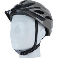Capacete Para Bike Spin Super Style - Adulto - Cinza Escuro