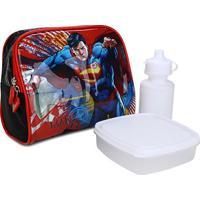 Lancheira Infantil Luxcel Superman - Masculino