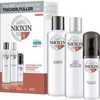 Nioxin Trial Kit Sistema 4 - Shampoo + Condicionador + Leave-In Kit - Unissex-Incolor
