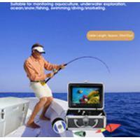 Câmera Fisheye 1000Tvl 1080P 7In Display Network Finder, Câmera Subaquática À Prova D'Água, Transmissão Da Web Para Aprendizagem Online