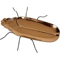 Petisqueira Decorativa De Cerâmica Inseto Bug