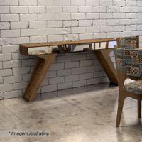 Aparador Retrã´- Espelhado & Nobre- 78X160X34Cmdalla Costa