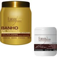 Banho De Verniz 1Kg + Botox Argan Forever Liss - Feminino