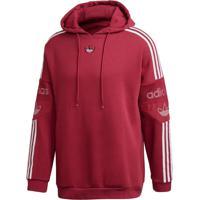 Blusão E Jaqueta Adidas Ts Trf Bordô