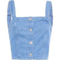Blusa Cropped Jeans Levi'S Women'S - Azul