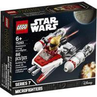 Lego Star Wars 75263 Microfigher Y-Wing Da Resistência -Lego