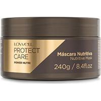 Máscara Power Nutri Protect Care Lowell 240G - Feminino-Incolor